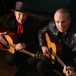 Dave, left, and Phil Alvin play a sold-out show at Downstairs Cabaret Theatre @ Winton Place.