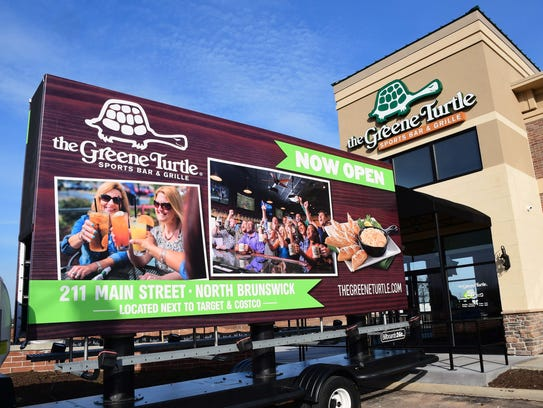 The Greene Turtle Sports Bar & Grille has opened its