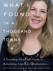 Dar Williams' new book about urban planning includes a 22-page chapter on Wilmington's redevelopment of the Riverfront. She will lead a Q&A session as part of her Arden show at the Gild Hall next month.