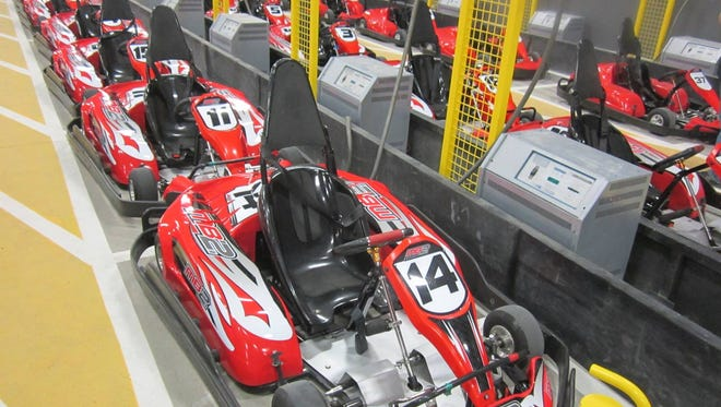 MB2 in Grimes is an indoor go-kart business that offers meeting and entertainment space.
