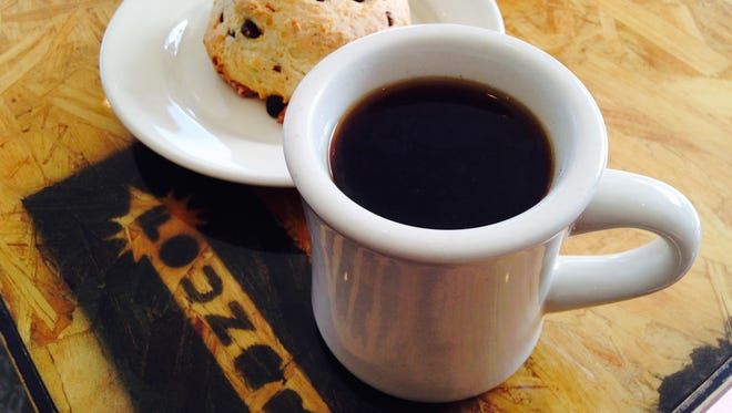 Foundry Provisions offers  a bottomless mug of coffee ($2.15).