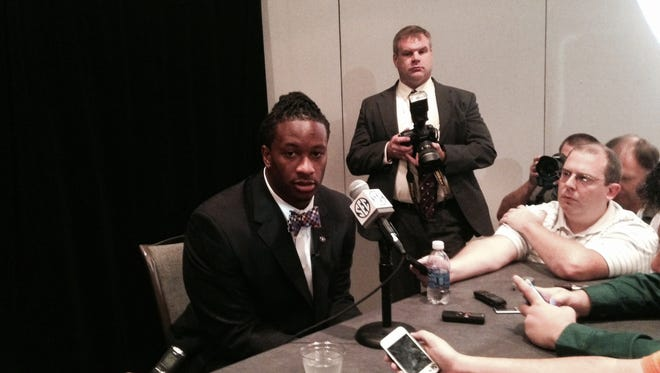 Georgia TB Todd Gurley may be the biggest household name among SEC fans present for SEC Media Days this week.
