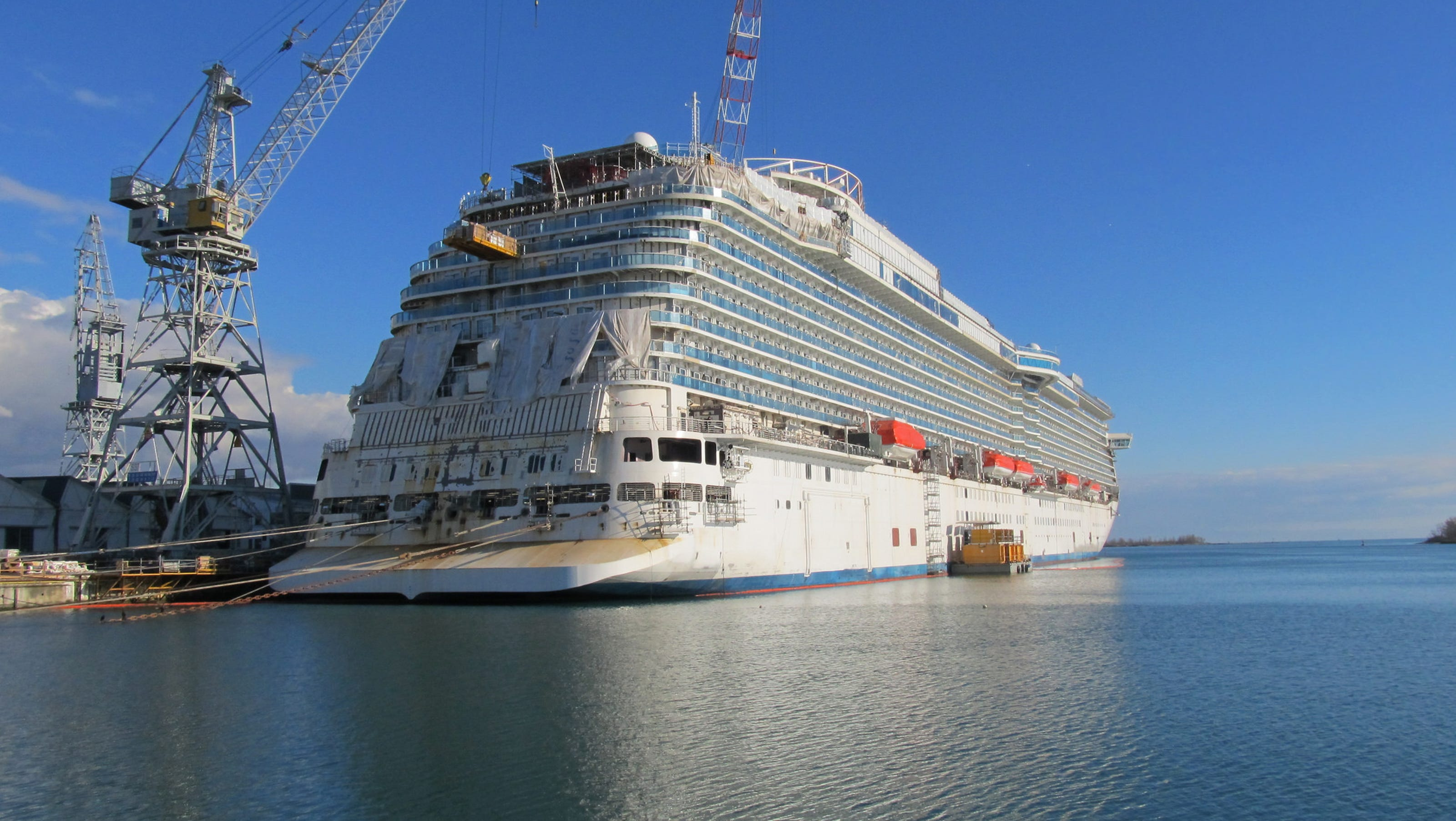 Photo Tour A Sneak Peek At Princess Cruises Next Ship