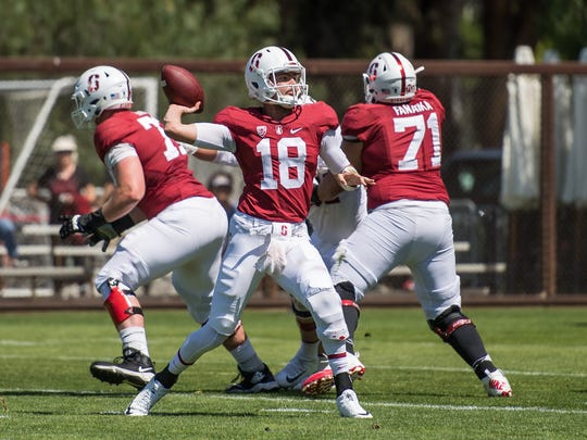 Junior quarterback Jack Richardson started for the Stanford Cardinal in its spring game due to injuries to the other quarterbacks on the roster. The Palma graduate (class of 2016) will likely compete for one of the backup spots on the roster this fall.