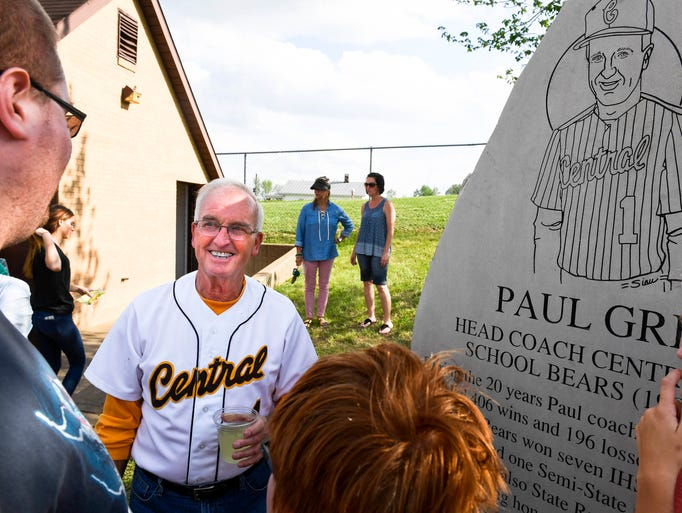 Retired long time Central High baseball coach Paul