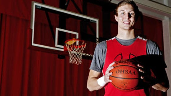 Luke Kennard arrived in Chicago Saturday for the McDonald's All American Games week.