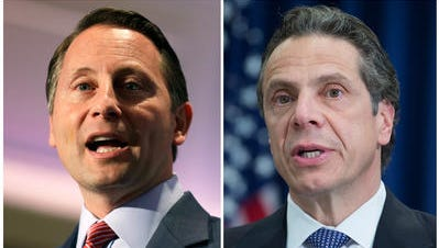 Westchester County Executive Rob Astorino and Gov. Andrew Cuomo differ on Common Core.