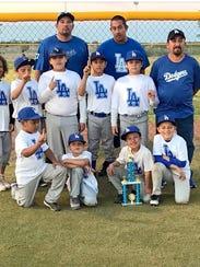 The Dodgers won last Saturday's National Little League