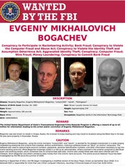 This image provided by the FBI shows the wanted poster