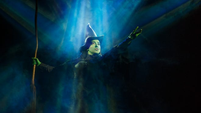 """Jessica Vosk stars as Elphaba in the national tour of """"Wicked,"""" which lands at the Fox Cities Performing Arts Center Aug. 30."""