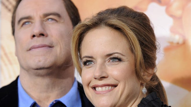 John Travolta said in an Instagram post that Kelly Preston, his wife of 28 years, died Sunday after a two-year battle with breast cancer.