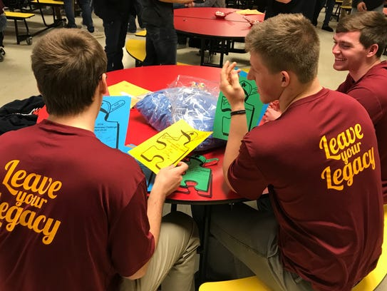 Voorhees players leave their legacy at Autism Awareness