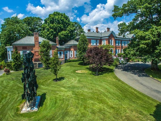 The 289-acre Atalanta property, at 89 Martins Lane in Red Hook, was built in 1851 for Franklin Hughes Delano and Laura Eugenia Astor. It is Dutchess County's highest-priced home for sale at $20 million.