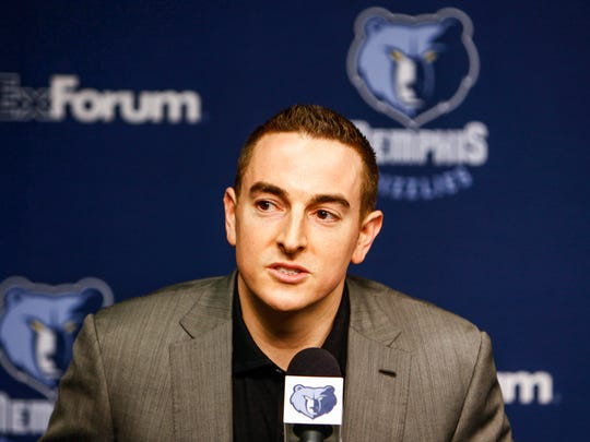 August 1, 2014 - Grizzlies majority owner Robert Pera