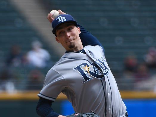 April 10: Blake Snell, Rays, 10 vs. White Sox