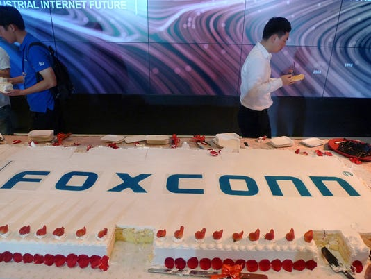 AP CHINA FOXCONN F I CHN