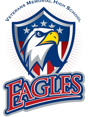 Veterans Memorial High School Eagles logo