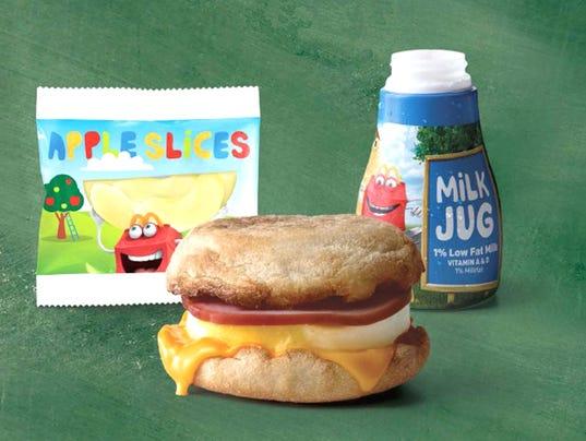 mcdonald's free breakfast