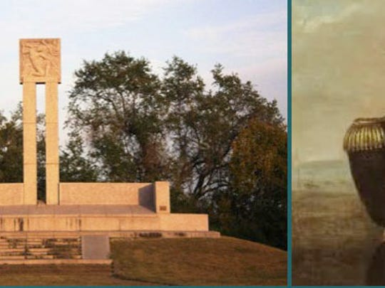 The Fannin Monument in Goliad commemorates those deaths.