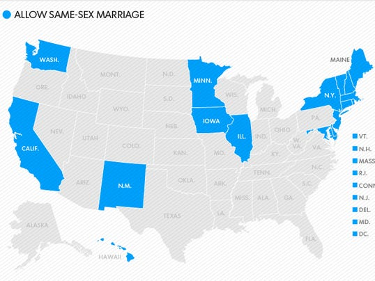 How Many States Allow Gay Marriages 3