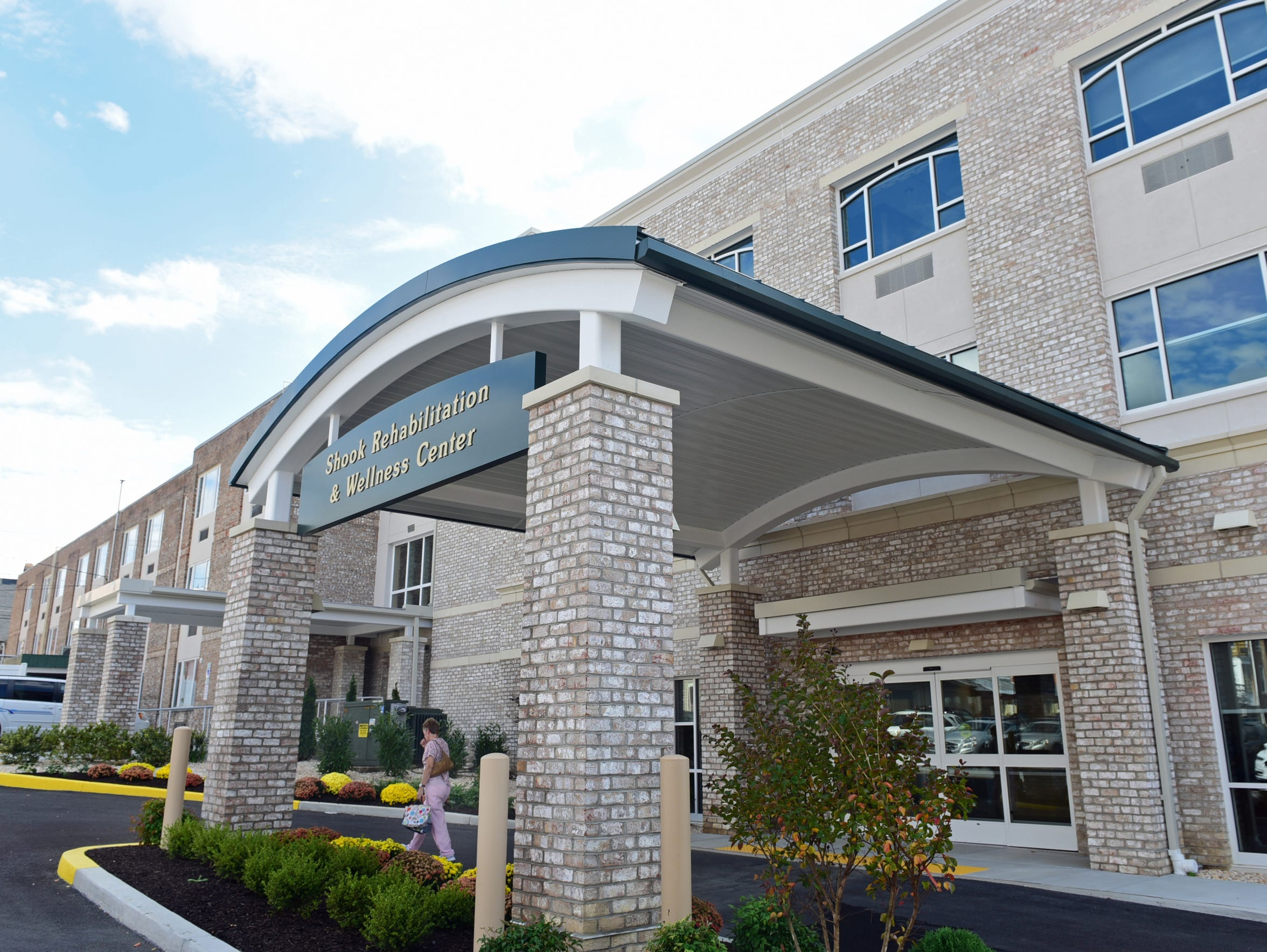 Shook Rehabilitation and Wellness Center is an addition