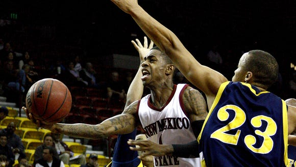 Former New Mexico State guard Jahmar Young as been