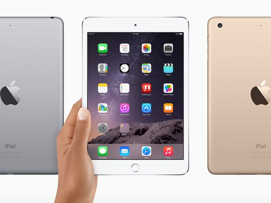 The new iPad mini 3 from Apple starts at $399.