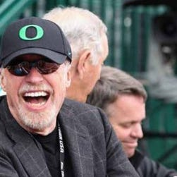 Phil Knight in a KGW-TV file photo.