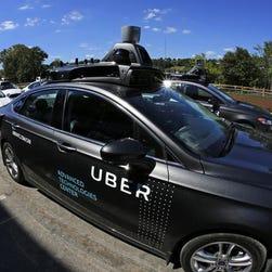 Uber's self-driving car involved in Arizona crash