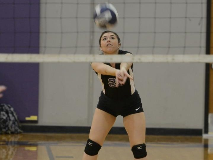 TCA's Katie Tillman is lone returning starter for the Lady Lion volleyball team this season.