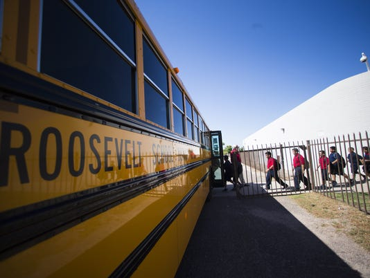 Roosevelt Elementary School District bus