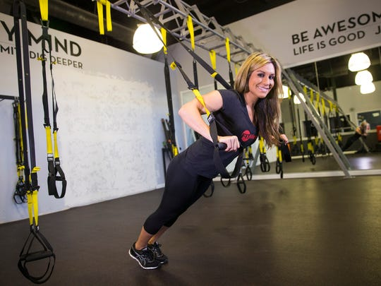 Felicia Romero's Fit Method gym works on a membership model. The $139 a month membership includes unlimited classes and child care. About 70 percent of her clientele is female.