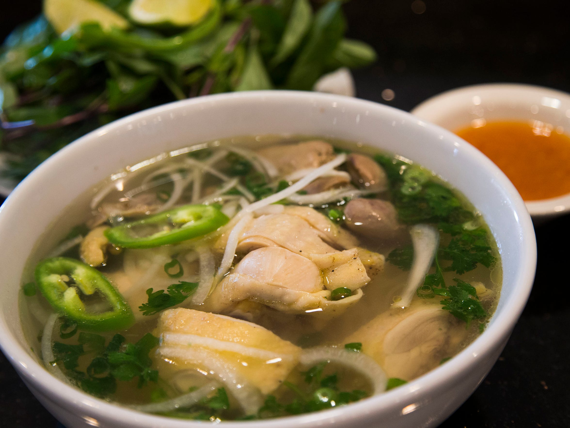 Chicken pho from Pho Winglee in Mesa.
