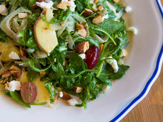 Apple and goat cheese salad from Doughbird, a Sam Fox
