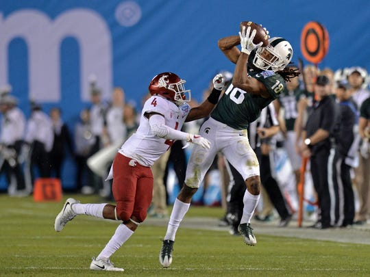 Michigan State Spartans wide receiver Felton Davis