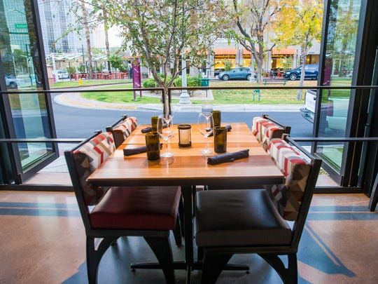 Interior of Match Restaurant & Lounge at the Found:Re
