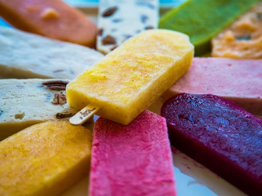 "Paletas Betty serves Mexican pops made from scratch. On ""Unique Sweets,"" writer Alie Ward tried the Frambuesa, a yogurt raspberry pop that mixes together sweet and tart flavors."