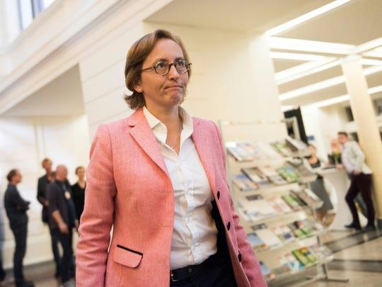 Beatrix von Storch of the populist AfD (Alternative