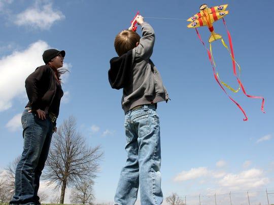 Celebrate spring at the Cherry Blossom Kite and Pinata Festival April 6 at Nathanael Greene/Close Memorial Park, 2400 S. Scenic Ave.