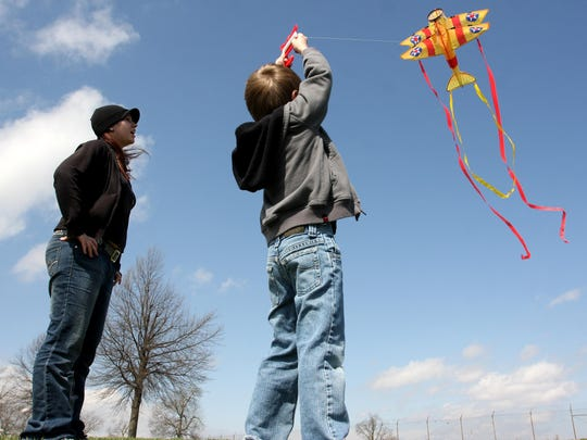 Celebrate spring at the Cherry Blossom Kite and Pinata Festival April 6 at Nathanael Greene/Close Memorial Park, 2400 S. Scenic Ave.