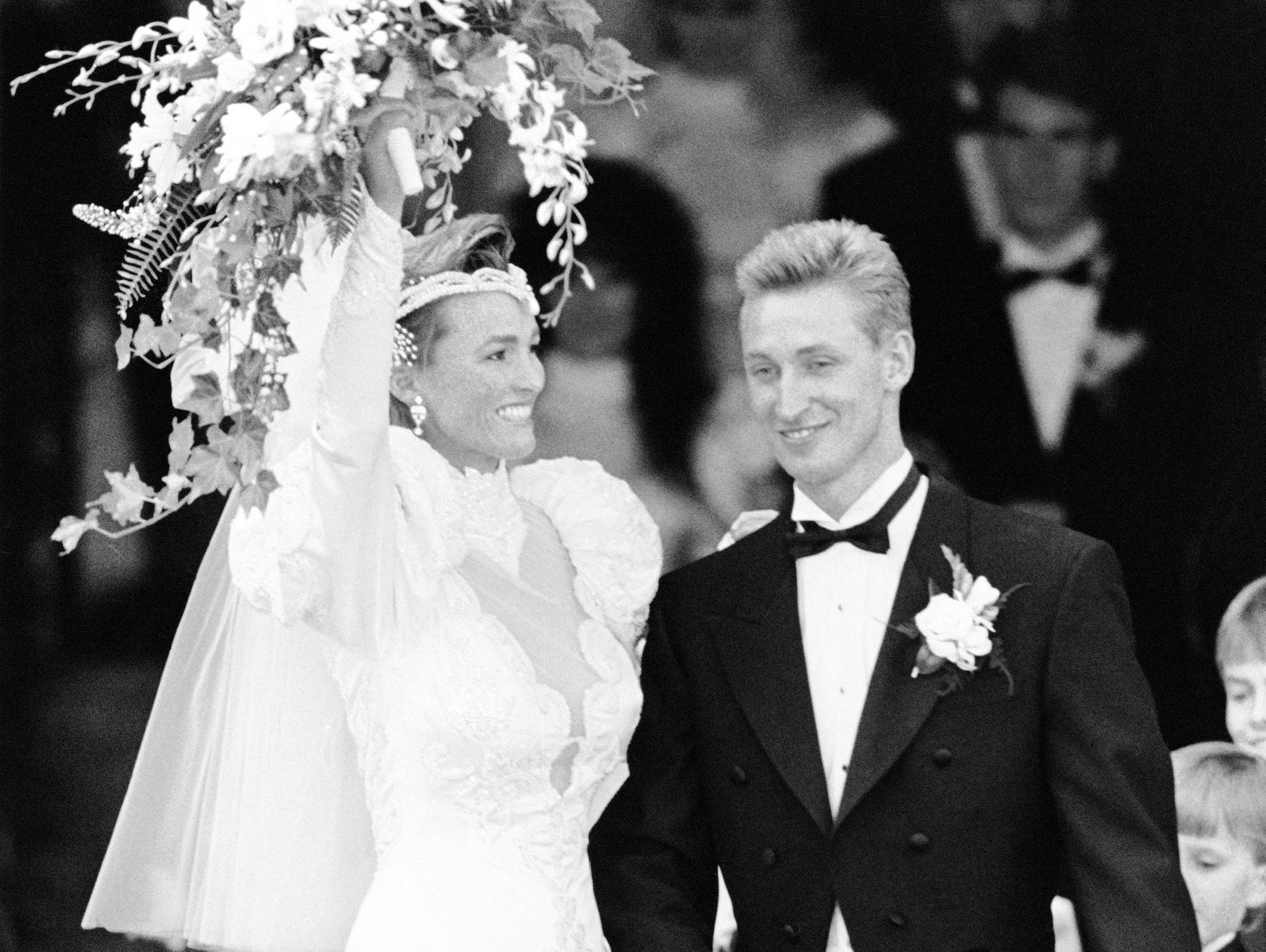 That July, Gretzky had married actress Janet Jones in Canada's version of a royal wedding. A little more than three weeks later, he was traded.