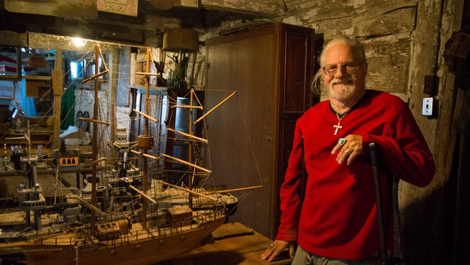 Longtime Manitowoc-area antiques dealer Russ Wheelock is preparing to retire. He currently has all of his wares at his rural farm. Items include car and vehicle parts, Manitowoc County-based memorabilia, artwork — including that of Lester Bentley of Two Rivers — ship models, antique knives and much more.