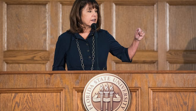 Second Lady Karen Pence visited Florida State University on Wednesday to announce the plans for Healing with the HeART, an initiative to exapnd art therapy in the United States.
