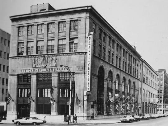 The Gannett building