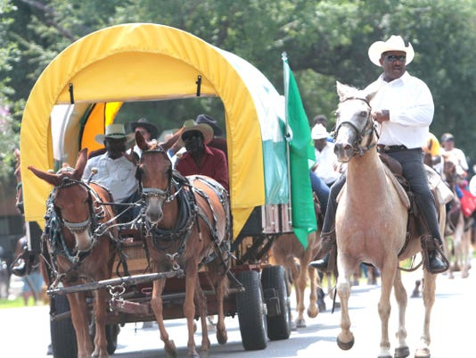 Bayou Black Open Rodeo Parade