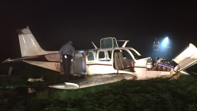 An aircraft was down in Jackson Township with injuries reported. The severity of the injuries are not known at this time
