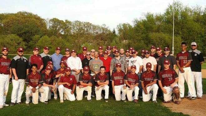 The Bloomfield baseball team, Class of 1996, returned to celebrate 21st anniversary of a Greater Newark Tournament championship, joining members of 2017 Bengals.
