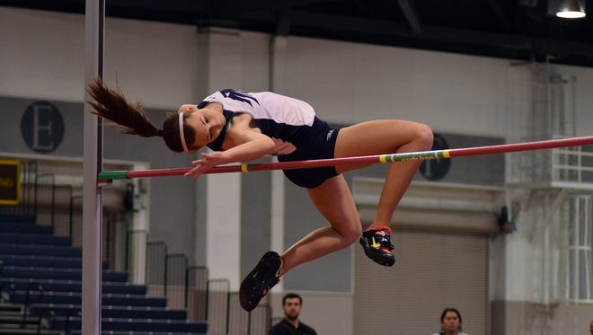 Nevada's Nicole Wadden placed fourth among college athletes in the heptathlon at the Texas Relays.