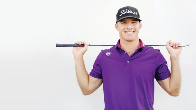 Morgan Hoffmann poses for a portrait on February 17, 2016, in Pacific Palisades, California.