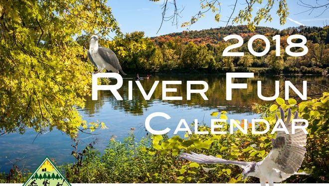 The 2018 Chemung River Friends calendar is available for sale.
